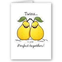 £1.55   Twin fruits   Perfect Pair Card