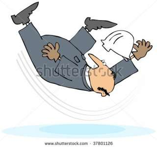 Worker Taking A Slip And Fall Stock Photo 37801126 : Shutterstock