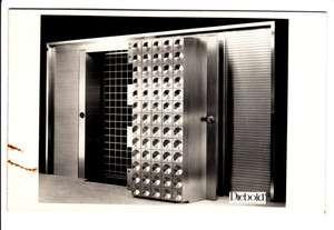 Diebold Safe Bank Vault North N. Canton Green Ohio Old RPPC Postcard