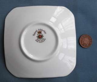 Royal Adderley Floral bone china pin dish