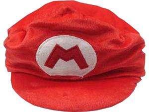 Super Mario Bros Oversized Plush Red Mario Hat