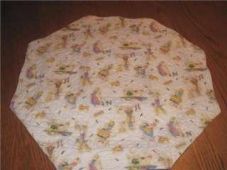 Handmade Table Runner Topper summer mom laundry vintage