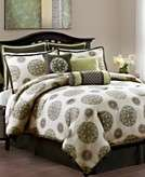 Vida By Eva Mendes Bedding, Stella 9 Piece Comforter Sets