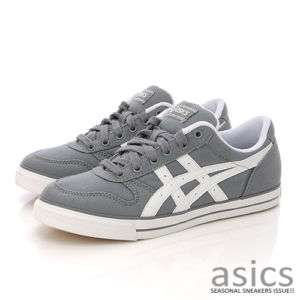 Brand New ASICS AARON CV Shoes Dark Gray/White #95