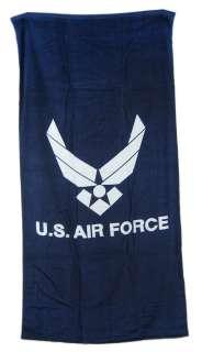 United States Air Force Blue Beach Towel 60 x 30 USAF