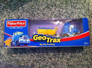 GeoTrax   Big Rig Trucking   New in Box