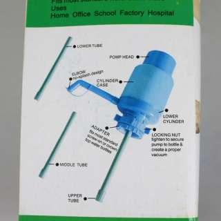 Bottled Drinking Water Hand Press Pump Dispenser type