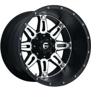 Fuel Hostage Black Machined Wheel (20x14) Automotive