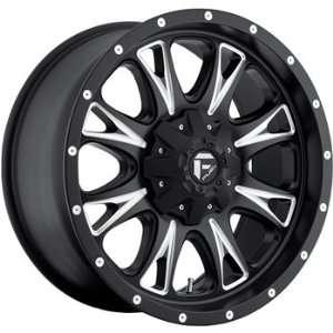 Fuel Throttle Black Machined Wheel (20x10) Automotive