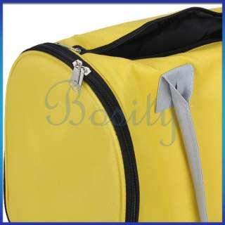 Yellow Pet Carrier Cat Dog Bag Travel Pet Shoulder Bag