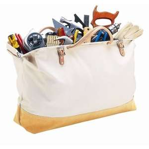 Platt CLC Tool Bag/Canvas Masons Tool Bag with Suede Leather Bottom