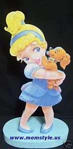 Baby Cinderella birthday party centerpiece decoration
