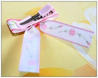 Bow knot Girls Baby Kids Hair Accessories Snap Clips