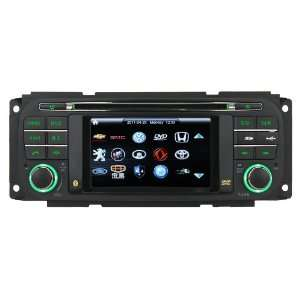 Dodge, Chrysler Car DVD Player with in dash Navigation System Car