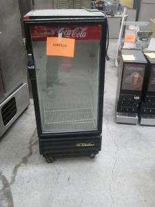 True Manufacturing Coca Cola Cooler / Refrigerator Model 60M 10 Single