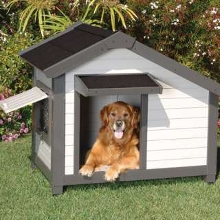 Pet Products ProConcepts Cozy Cottage Dog House in Gray Dogs