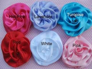 ,pls go to  http//www./itm/5 Big Satin 3 Ribbon Rose Flower