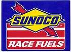 Sunoco Racing Fuel Decal Stickers 7 1/2 inch Long Size