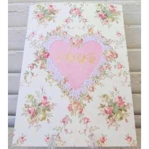 Carol Wilson Valentines Card   Rose Bouquet   Love