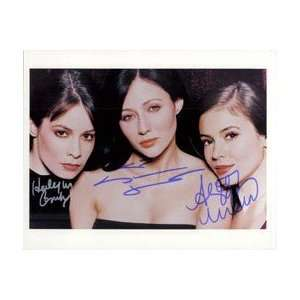 / Holly Marie Combs / Shannen Doherty) 8x10 By Alyssa Milano, Holly
