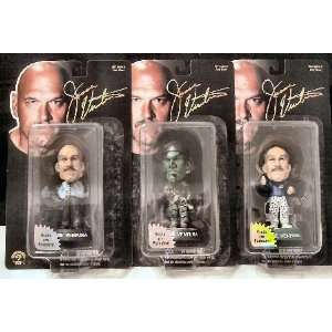 Jesse Ventura Little Big Head Figure Set Toys & Games
