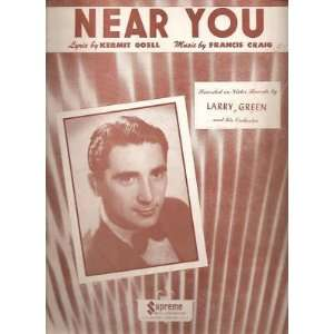 Sheet Music Near You Larry Green Orchestra 22 Everything