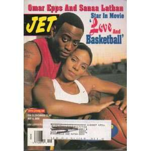 Jet Magazine May 8, 2000 with Omar Epps and Sanaa Lathan from movie