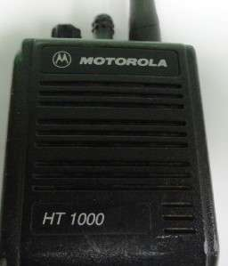 Motorola HT 1000 Radio H01KDC9AA3AN FCC ID: AZ489FT3768 Handie Talkie