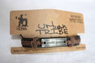 Urban Tribe Bracelets Leather Friendship Bracelet Surf Surfer Style