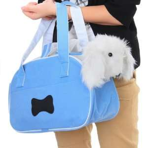 Blue Pet Carrier Dog Cat Tote Bag