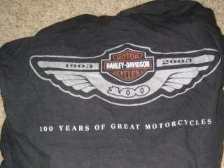 RARE Harley Davidson 100th Anniversary Motorcycle Cover