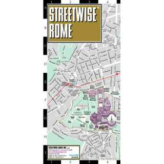 Streetwise Rome Map   Laminated City Street Map of Rome