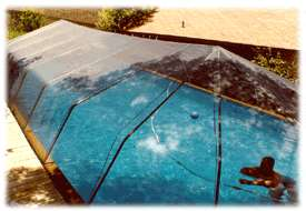 Round Above Ground Swimming Pool Solar Sun Dome Replacement Cover