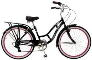 Schwinn 26 Inch Womens Riverside 7 Speed Cruiser Bicycle Black