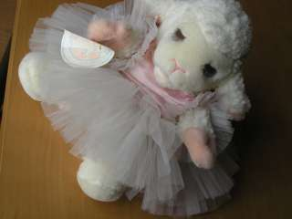 Lewis Lamb Chop and Me / Friends Plush Hand Puppet Ballerina 1987