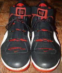 Nike Zoom Air LeBron James IV Mens 2006 Basketball Shoes Sneakers Size
