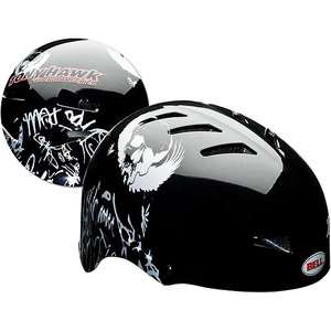 Tony Hawk Huck Jam Black Buzzard Youth Helmet Bikes