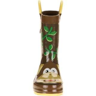 Toddler Boys Monkey Rain Boots Shoes