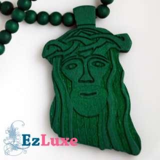 goodwood good maple wood black Jesus Piece Necklace 37