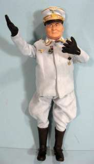GERMAN WW2 OFFICER 12 INCH MILITARY ACTION FIGURE DOLL NEW