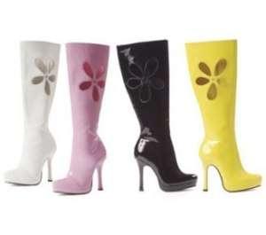 Sexy Womens Halloween Yellow GoGo Boot Lovechild 10