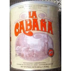 Leche en polvo La Cabana   Powdered milk (1.76 lb):
