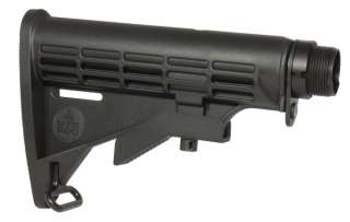 LEAPERS MADE IN USA 6 Position Mil Spec Stock   BLACK