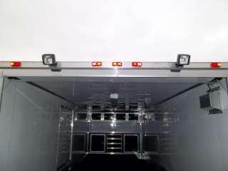 Enclosed Cargo Auto Hauler Race Car Trailer Flat Front 102x24 Racer