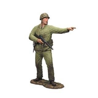 Marine Infantry Call of Duty World at War Marine Corp with Machine Gun