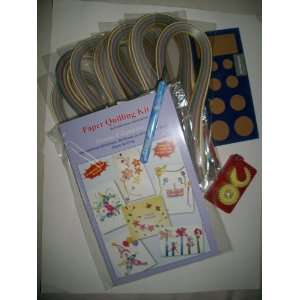 Paper Quilling Kit ( Includes Quilling Kit , Slotted Tool
