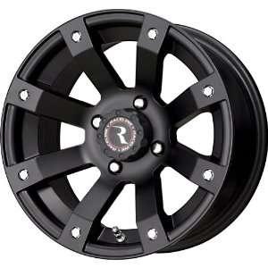 Raceline Scorpion Black Wheel with Machined Face Finish (12x7/4x137mm