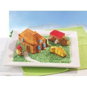Farm Shaped Silicone Mold for Baking & Freezing: Kitchen & Dining