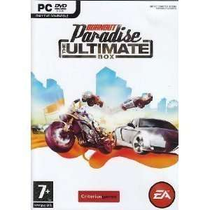 Burnout Paradise   The Ultimate Box PC 100% Brand New
