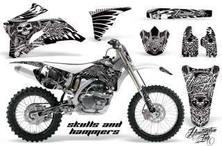 STICKER NUMBER PLATE GRAPHIC DECAL YAMAHA YZ450F YZ YZ250F 06 09 HSHW
